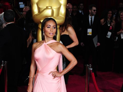 Jada Pinkett Smith fought back tears during the latest episode of her Facebook series (Ian West/PA)