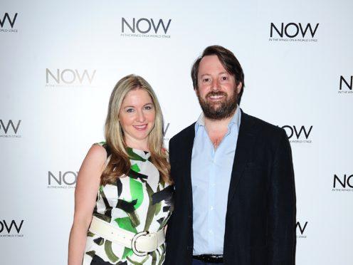 David Mitchell and Victoria Coren Mitchell (PA)