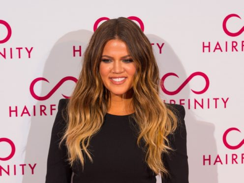 Khloe Kardashian has explained why she wanted Tristan Thompson to be in the delivery room while she gave birth to their first daughter (Dominic Lipinski/PA)