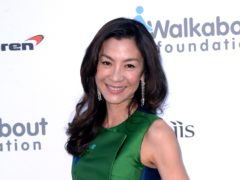 Michelle Yeoh revealed fans come up and hug her in the street following the success of Crazy Rich Asians (Anthony Devlin/PA)