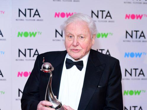 Sir David Attenborough (PA)