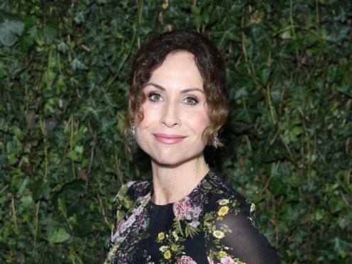 Minnie Driver was among the celebrities handing out food to vulnerable people in Los Angeles to celebrate Thanksgiving (Isabel Infantes/PA)