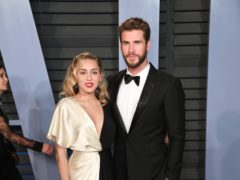 The home belonging to Miley Cyrus and Liam Hemsworth has been burned to the ground (PA)