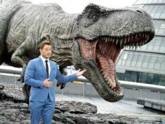 Jurassic World: Fallen Kingdom clings to film chart top spot for second week (Ian West/PA)