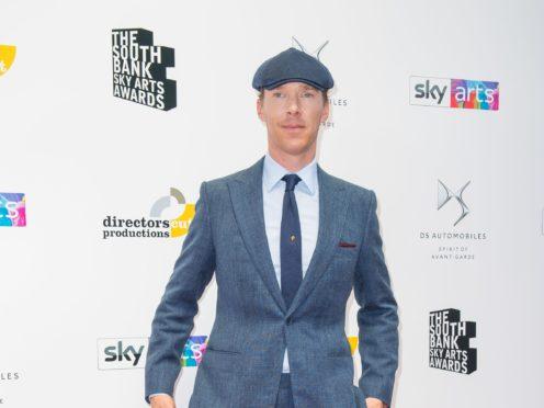 Benedict Cumberbatch voices The Grinch (Dominic Lipinski/PA)