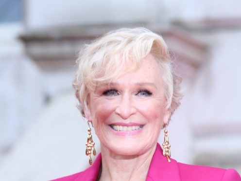 """Glenn Close has said she is """"very superstitious"""" as she refused to comment on her chances of winning an Oscar for her role in The Wife (Isabel Infantes/PA)"""