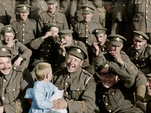 Still from They Shall Not Grow Old (Imperial War Museum/Peter Jackson/PA)