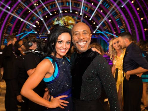 Strictly's Amy Dowden on clash with Danny John-Jules: I never felt threatened (Guy Levy/BBC)
