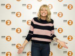 Zoe Ball said she loves reading on trains (Sarah Jeynes/BBC)