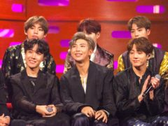 BTS capped another successful year by winning big at the People's Choice Awards (Tom Haines/PA)