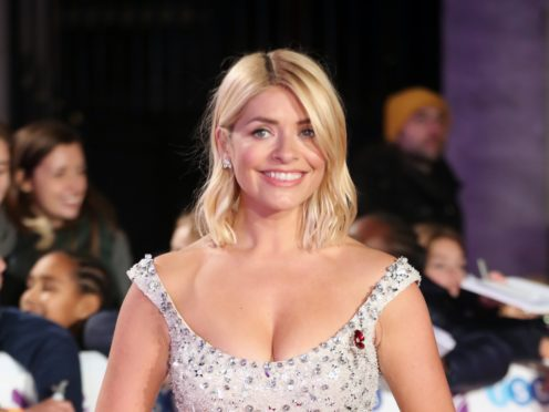 Holly Willoughby (Steve Parsons/PA)