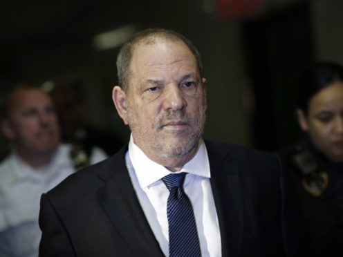 Harvey Weinstein (AP Photo/Mark Lennihan, File)