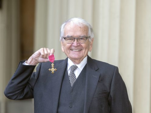 Mr Cosgrove received his honours for services to the United Kingdom Animation Industry (Steve Parsons/PA)