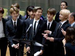 K-Pop group BTS (AP)