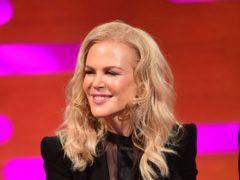 Nicole Kidman appeared on the Graham Norton Show (Ian West/PA)