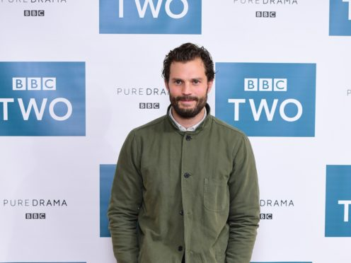 Jamie Dornan was reunited with The Fall creator Allan Cubitt for Death And Nightingales (Ian West/PA)