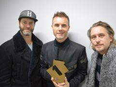 Take That thanked their fans (OfficialCharts.com)