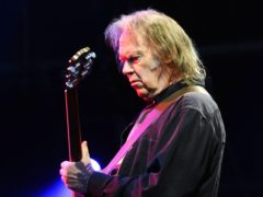 Neil Young confirmed his marriage to Daryl Hannah in a video urging people to vote in the upcoming US midterm elections (Ian West/PA)