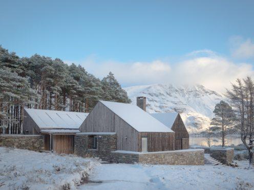 Lochside House by Haysom Ward Miller Architects (Richard Fraser/PA)·
