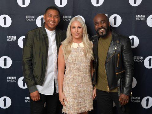 Kiss breakfast trio to replace Charlie Sloth on Radio 1 weekday show (Mark Allan/BBC)