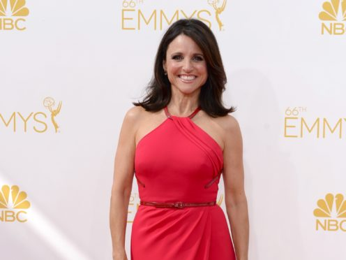 Julia Louis-Dreyfus has finished filming the final episode of Veep (PA)