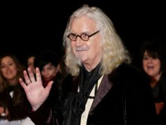 Sir Billy Connolly was urged to quit manual labour (Yui Mok/PA)