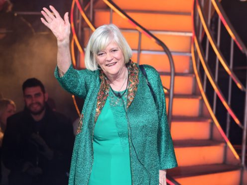 Ann Widdecombe returns to Strictly Come Dancing (Ian West/PA)