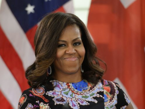 Former US first lady Michelle Obama will speak to an audience at the Royal Festival Hall. (Stefan Rousseau/PA)