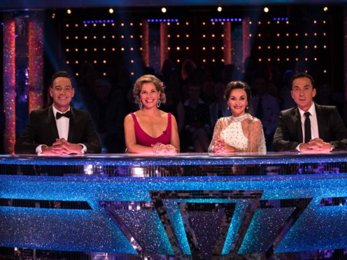 Craig Revel Horwood, Dame Darcey Bussell, Shirley Ballas, and Bruno Tonioli (BBC/Guy Levy)