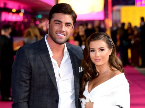Jack Fincham and Dani Dyer have split after six months together (Ian West/PA)