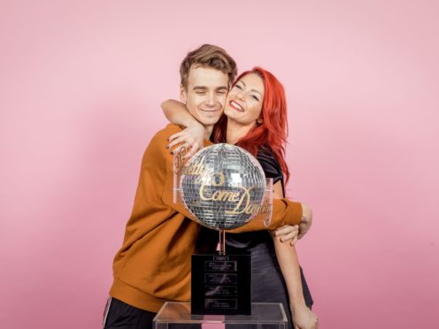 Joe Sugg and Dianne Buswell (BBC)