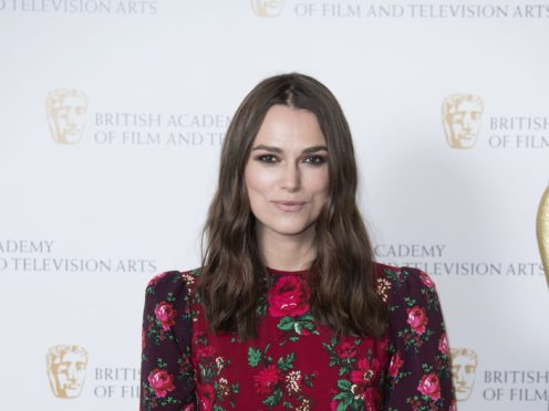 Keira Knightley considered giving up film career after 'breakdown' in her 20s (Ian West/PA)