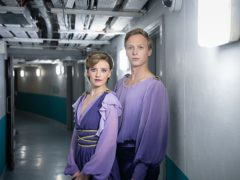 Will Tudor and Poppy Lee Friar in Torvill and Dean (ITV/Northern Ireland Screen)