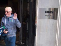 Chris Evans bids a festive farewell to Radio 2 (Andrew Matthews/PA)