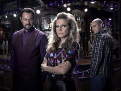 Tensions mount in Albert Square in the build-up to Christmas (Kieron McCarron/BBC)