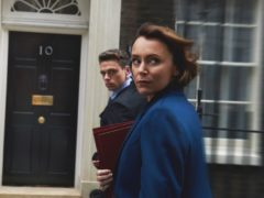 Keeley Hawes and Richard Madden in Bodyguard (BBC/World Productions/Des Willie/PA)