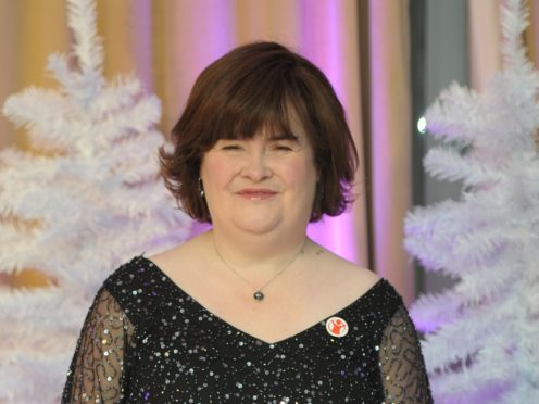 Susan Boyle made an emotional appearance on America's Got Talent (Anthony Devlin/PA)