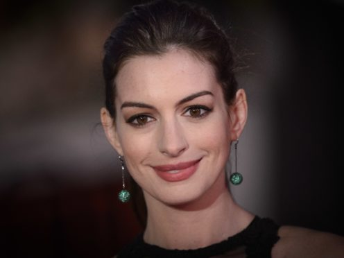 Anne Hathaway has said there is already a script for the film (Matt Crossick/PA)
