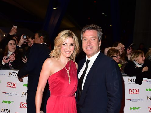 Lisa Faulkner has announced her engagement to John Torode (Ian West/PA)