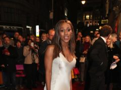 Alexandra Burke is currently starring in a nationwide tour of The Bodyguard (Jonathan Brady/PA)