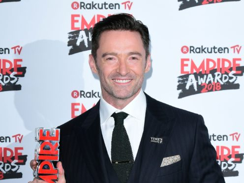 Hugh Jackman stars in The Greatest Showman, which looks set to topple the Beatles (Ian West/PA)