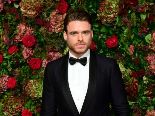 Richard Madden after picking up the best actor in a TV drama award (Jordan Strauss/Invision/AP)