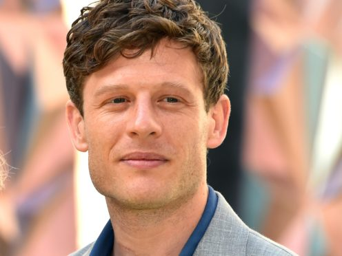 Grantchester's James Norton starred in an episode centred on racism. (Matt Crossick/PA)