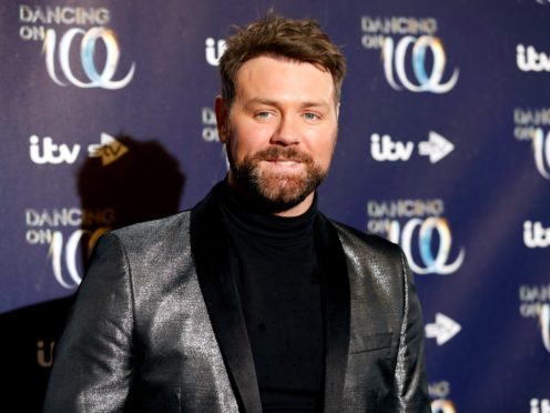 Brian McFadden is among the contestants in this year's Dancing On Ice (David Parry/PA)