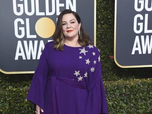 Melissa McCarthy arrives at the 76th annual Golden Globe Awards at the Beverly Hilton Hotel (Jordan Strauss/Invision/AP)