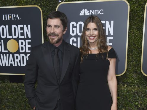 Christian Bale, left, and Sibi Blazic (Jordan Strauss/Invision/AP)