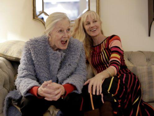 Vanessa Redgrave and her daughter Joely Richardson (AP Photo/Matt Dunham)