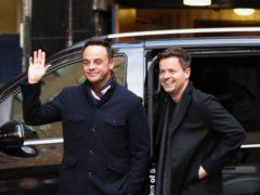 Ant McPartlin returned to present Britain's Got Talent alongside Declan Donnelly (Jonathan Brady/PA)