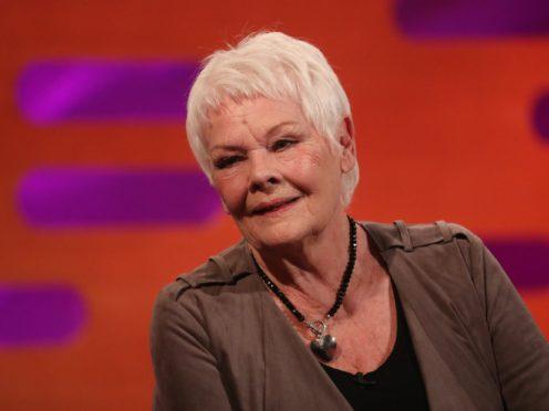 Dame Judi Dench on the Graham Norton Show (Isabel Infantes/PA)