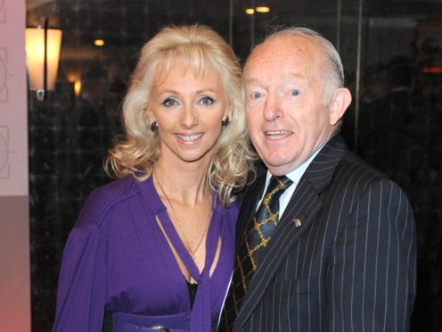 Debbie McGee said she believes stress over husband Paul Daniels's death may have brought on the disease (Ian West/PA)